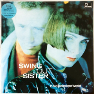 Swing Out Sister - Kaleidoscope World (LP) (VG-/VG)